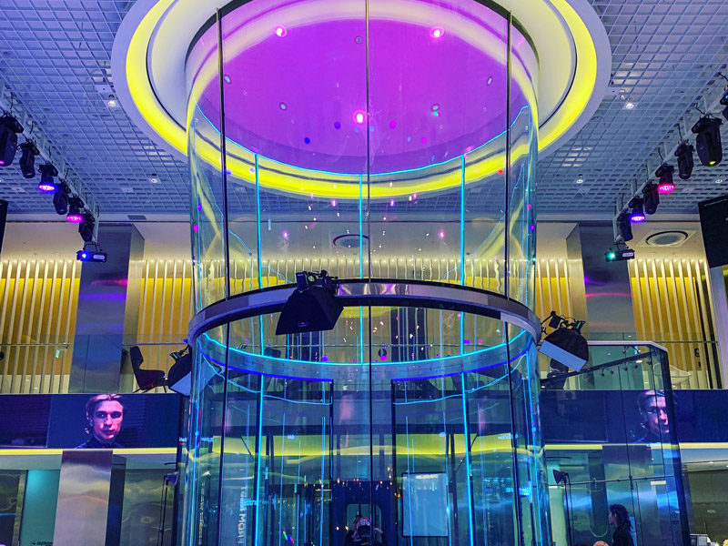 Luxfly Indoor Skydive - Entreprise accompagnée par Luxembourg Développement